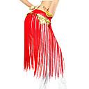ราคาถูก เครื่องประดับประกอบการเต้นรำ-ชุดเต้นระบำหน้าท้อง เข็มขัด สำหรับผู้หญิง Performance เส้นใยสังเคราะห์ พู่ ผ้าพันสะโพกสำหรับระบำหน้าท้อง