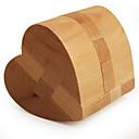 Χαμηλού Κόστους Ξύλινα παζλ-Ξύλινα παζλ / Παιχνίδια σπαζοκεφαλιές IQ Καρδιά επαγγελματικό Επίπεδο / Ταχύτητα Ξύλινος Κλασσικό & Διαχρονικό Αγορίστικα Δώρο