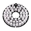 Χαμηλού Κόστους Αξεσουάρ Ασφαλείας-Λάμπα Φωτισμού Υπερύθρων 48-LED Illuminator Board Plate for 3.6mm Lens Security Camera για Ασφάλεια συστήματα 6*6*1.5cm 0.015kg