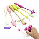 ราคาถูก เครื่องเขียน-ปากกา ปากกา ปากกาลูกลื่นต่างๆ ปากกา, ยาง สีน้ำเงิน หมึกสี For อุปกรณ์การเรียน เครื่องใช้สำนักงาน แพ็คของ