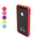 billiga iPhone-fodral-fodral Till iPhone 4/4S / Apple iPhone 4s / 4 Stötsäkert fodral Mjukt TPU