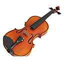 זול ברז ערכות-Yinyi - (MYG02) 4/4 Professional-Grade 1-Piece Flame Maple Violin Outfit (Inlaid Mother-of-pearl)