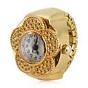 Χαμηλού Κόστους Μοδάτες Καρφίτσες-Γυναικεία Ρολόι Δαχτυλίδι χρυσό ρολόι Ιαπωνικά Χαλαζίας Χρυσό Καθημερινό Ρολόι Αναλογικό κυρίες Λουλούδι Μοντέρνα
