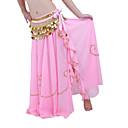 Χαμηλού Κόστους Αξεσουάρ Χορού-Χορός της κοιλιάς Φούστα Γυναικεία Επίδοση Σιφόν Χάντρες Χαμηλή Μέση Φούστα
