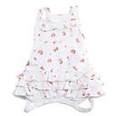 זול בגדים לכלבים-כלב שמלות בגדים לכלבים כותנה תחפושות עבור קיץ & אביב