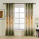 billige Gardiner-klargjorte energisparende gardiner gardiner ett panel / soverom
