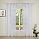 billige Gjennomsiktige gardiner-skreddersydde rene ren gardiner nyanser to paneler for soverommet