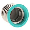 billiga Glödlampa-E40 till E27 E27 85-265 V Plast Lampa sockel
