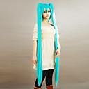 billiga Kostymperuk-Vocaloid Hatsune Miku Herr Dam 60 tum Animé Cosplay-peruker