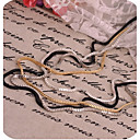 povoljno Ogrlice-Žene Lančići Izjava Ogrlice slojeviti Ogrlice Više slojeva dame Više slojeva Legura Zlato zaslon u boji Ogrlice Jewelry Za Special Occasion Rođendan Dar