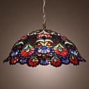 Недорогие Подвесные лампы-2-Light Подвесные лампы Потолочный светильник Хром Стекло Мини 110-120Вольт / 220-240Вольт / E26 / E27