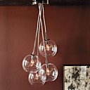 povoljno Lusteri-QINGMING® 4-Light Klastera Privjesak Svjetla Downlight Electroplated Metal Glass Mini Style 110-120V / 220-240V Bulb not included / E12 / E14 / VDE