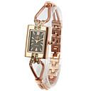 ราคาถูก เหยื่อตกปลา-สำหรับผู้หญิง Fold-over นาฬิกาแฟชั่น นาฬิกาทอง นาฬิกาสแควร์ ทอง Csempe สุภาพสตรี นาฬิกาข้อมือ - Rose Gold