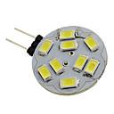 billiga Köksredskap och -apparater-1.5 W LED-spotlights 6000 lm G4 9 LED-pärlor SMD 5730 Naturlig vit 12 V