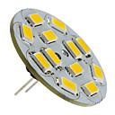 ราคาถูก หลอดไฟ-1.5 W LED สปอตไลท์ 130-150 lm G4 12 ลูกปัด LED SMD 5730 ขาวนวล 12 V / #