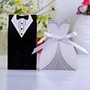 abordables Soportes para Regalo-Creativo Papel de tarjeta Soporte para regalo  Con Cintas Cajas de regalos