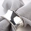 povoljno LED rasvjetne cijevi-set od 4 luksuzne modernog dizajna legure cinka salveta prstenom