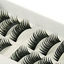 Χαμηλού Κόστους Συνθετικές περούκες χωρίς σκουφί-Βλεφαρίδα 10 pcs Volumized Βλεφαρίδα Κλασσικό Καθημερινά Μακιγιάζ Καλλυντικό