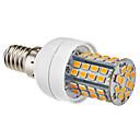 billiga Glödlampor-1st 3.5 W LED-lampa 350-450 lm E14 E26 / E27 60 LED-pärlor Varmvit Naturlig vit 220-240 V