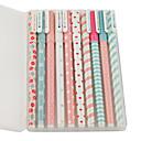 billige Puslespill i tre-10 stk / masse ny søt tegneserie fargerik gel penn sett kawaii koreanske brevpapir kreativ gave