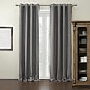 billige Gardiner-Skreddersydde blackout-gardiner med gardiner, gardiner, to paneler til stuen