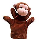 ราคาถูก หุ่นกระบอก-Finger Puppet Stuffed & Plush Animals ลิง นุ่ม สบาย สไตล์น่ารัก ทุกเพศ เด็กผู้ชาย เด็กผู้หญิง Toy ของขวัญ