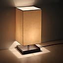povoljno Zidni svijećnjaci-minimalistička stolna svjetiljka od masivnog drveta noćni ormarić noćni ormarić svjetiljka s platnenom platnom za dnevnu sobu spavaće sobe