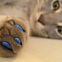 billige Katteleker-Kat Pleie Sundhetspleie Plast Neglebeskytter Kæledyr Pleieutstyr Svart Oransje Grønn