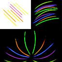 billiga Magi och trollkarl-100st FOSFORESCERANDE Glow Stick Blandade slumpmässig färg Konsert Props