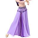 povoljno Odjeća za trbušni ples-Trbušni ples Suknja Žene Šifon Prednji izrez Prirodno Suknja / Balska sala
