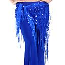 Χαμηλού Κόστους Αξεσουάρ μαλλιών-Χορός της κοιλιάς Σάλι για Χορό της Κοιλιάς Γυναικεία Εκπαίδευση Chinlon Πούλιες / Φούντα Φουλάρι Γοφών για Χορό της Κοιλιάς