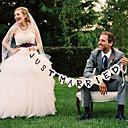 povoljno Svadbeni ukrasi-Natpisi Pearl papira / Miješani materijal Vjenčanje Dekoracije Svadba Klasični Tema Proljeće / Ljeto / Jesen