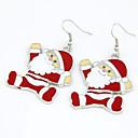 olcso Divat fülbevalók-Női Függők aranyos stílus Karácsony Fülbevaló Ékszerek Piros Kompatibilitás Karácsony Napi
