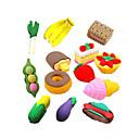 billiga Skolmaterial-specialdesign snabbmatformad suddgummi uppsättning (4 st) för skolan / kontoret