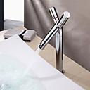 povoljno Miješalice Setovi-suvremeni centrični keramički ventil jedna rupa s dva ručka rupa kroma, kupaonica sudoper slavina slavine za kupanje