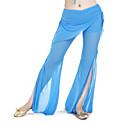 baratos Roupas de Dança do Ventre-Dança do Ventre Fundos Mulheres Treino Poliéster Calças