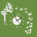 ราคาถูก นาฬิกาติดผนัง-3dthe reach สติ๊กเกอร์ติดผนังกำแพง d ecals 1 ชิ้น