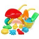 baratos Brinquedo de Água-12 peças de grande porte Engrosse água e areia Set Toy Trolley