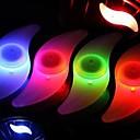 billige Sykkellykter og reflekser-LED Sykkellykter Blinkende ventillys hjul lys Sykkel Spoke Lights Sykkel Sykling Vanntett Multi-farge Sykling / IPX-4