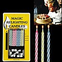 billiga Magi och trollkarl-10PCS Mixed-Color Magic relighting Ljus practical joke Prylar