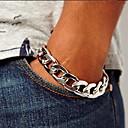 billiga Moderingar-Kedje & Länk Armband Unik design Vintage Mode Legering Armband Smycken Silver / Brun Till Julklappar Party Dagligen Casual