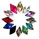 povoljno Umjetno drago kamenje&Dekoracije-24 pcs Nakit za nokte Rhinestones nail art Manikura Pedikura Dnevno Sažetak / Vjenčanje / Moda