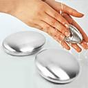 olcso Horgok-szappan rozsdamentes acél szappan kéz szag eltávolító bár mágikus szappan megszünteti a fokhagymás hagymát
