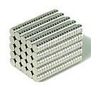 ราคาถูก สายไฟ LED-200 pcs 3*1mm Magnetiske leker Building Blocks ซูเปอร์แข็งแกร่งหายากของโลกแม่เหล็ก Neodymium Magnet Puzzle Cube NdFeB Neodymium Magnet Circular Cylinders แม่เหล็ก DIY กระดุม สำหรับเด็ก / ผู้ใหญ่