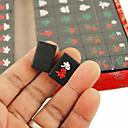 billiga brädspel-19mm reser miljö svart mahjong pack med box