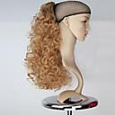 Χαμηλού Κόστους Αλογοουρές-Αλογορουρές Κομμάτι μαλλιών Σγουρά Κλασσικά Συνθετικά μαλλιά 18χιλ Hair Extension Καθημερινά