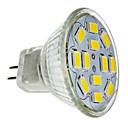 billige Spotlys med LED-LED-spotpærer 560 lm GU4(MR11) MR11 12 LED perler SMD 5730 Dekorativ Kjølig hvit 12 V / RoHs / CE