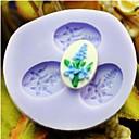 billiga Bakformar-blomma baka fondant tårta mögel, l3.8cm * w3.4cm * h0.8cm