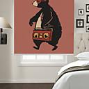 זול מנורות שולחן-צל הרים בסגנון קריקטורה דוב מוסיקת הליכה אמנותית