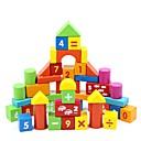 billiga Bergkristall&Dekorationer-50 st siffror Trä byggstenar barnens pedagogiska leksaker